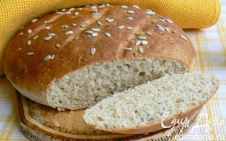 Рецепт хлеб с мультизлаковыми хлопьями, отрубями и семечками
