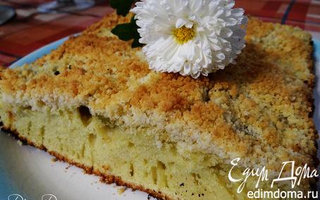 Рецепт Пирог на лимонаде с киви и штрейзелем