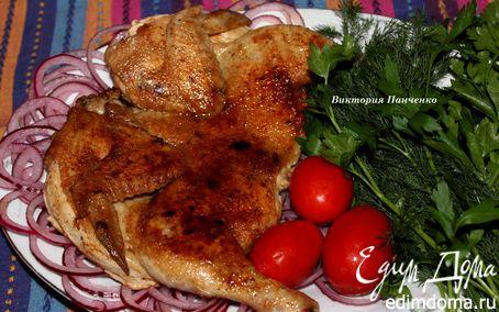 Рецепт Цыпленок табака (тапака)