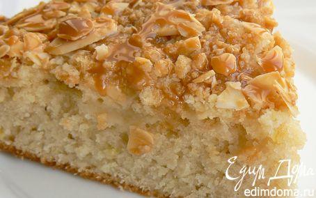 Рецепт Яблочный кекс с карамельным соусом