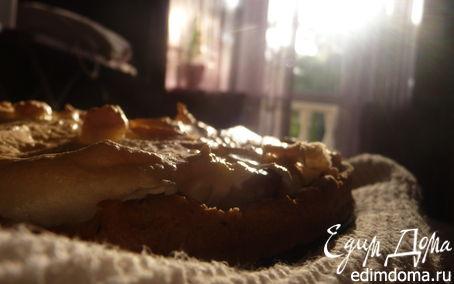 Рецепт Грушевый пирог с меренгой