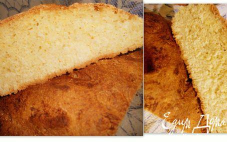 Рецепт простой кукурузный хлебушек