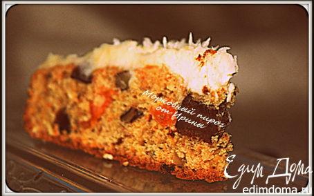 Рецепт Морковный пирог с сухофруктами