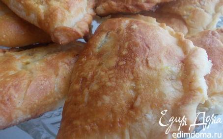 Рецепт Слоеные пирожки с тыквой