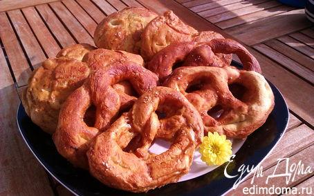 Рецепт Баварский содовый брецель (Laugenbrezel)