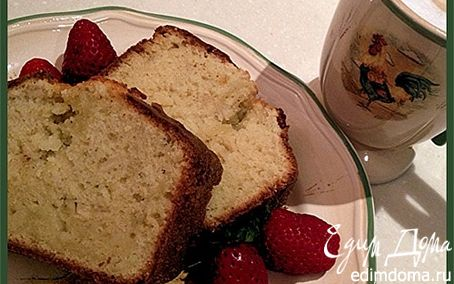 Рецепт Кекс с яблоком и корицей