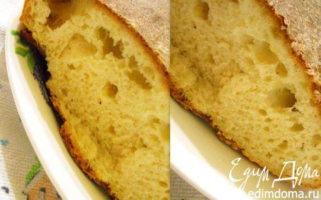Рецепт Хлеб из поленты (кукурузная каша)