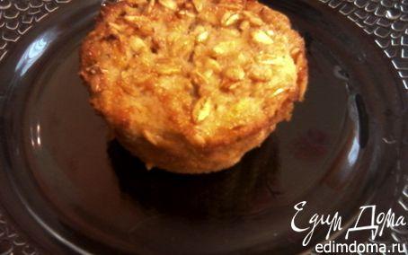 Рецепт Овсяные маффины с яблоком и корицей