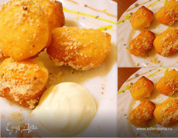 Лимонные мини-пончики
