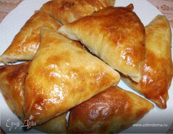 Самса пошаговый рецепт с фото с курицей и сыром