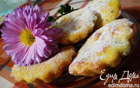 """Рецепт Творожные маффины с кусочками банана и киви """"Божественная нежность"""""""
