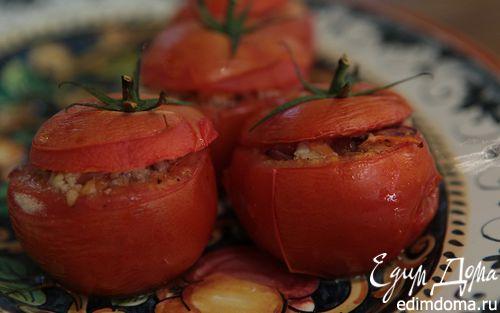 Рецепт Помидоры, фаршированные мясом и овощами