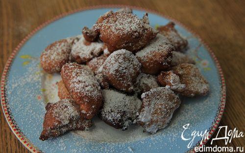 Рецепт Картофельные пончики с корицей