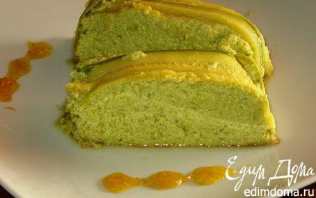 Рецепт Bоздушный флан из цукини