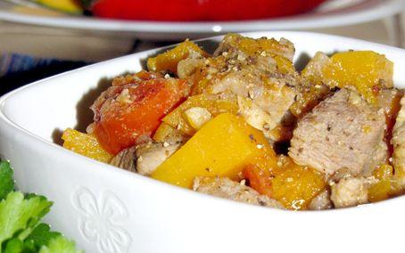 Рецепт Карри из свинины с тыквой