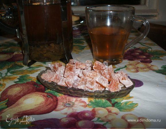 Цукаты из тыквы