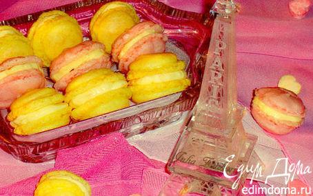 Рецепт Французское миндальное безе (Macarons)