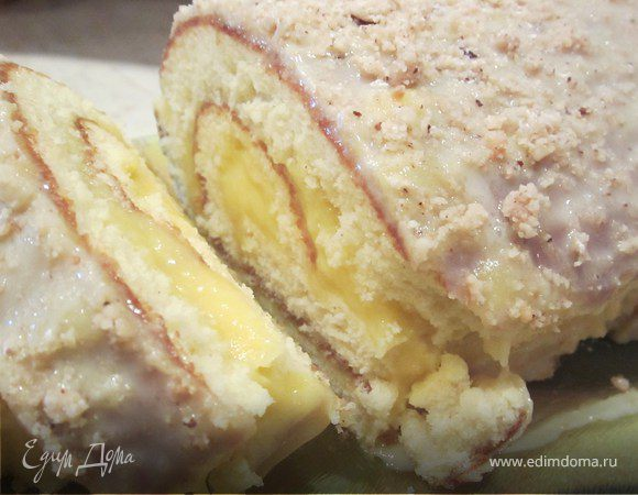 Рецепты тортов с лимонным курдом