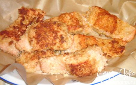 Рецепт жареная форель в панировке
