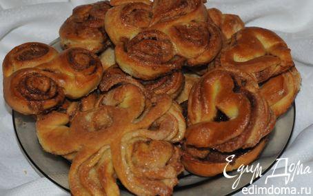 Рецепт Назад в СССР: булочки с корицей от бабушки (+МК по формовке)