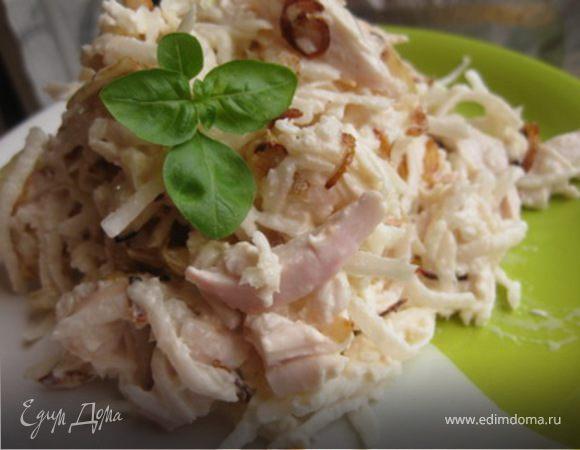 дайкон рецепты салатов с мясом