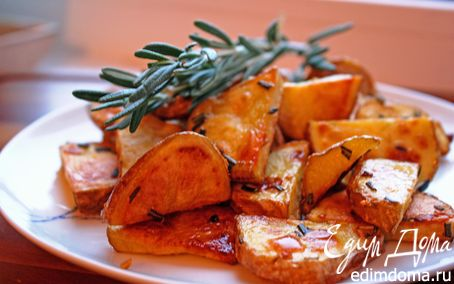 Рецепт Картофель печеный с розмарином