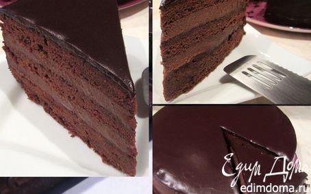 """Рецепт Торт """"Черный шоколад"""""""