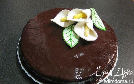 Рецепт Шоколадная мастика для тортов