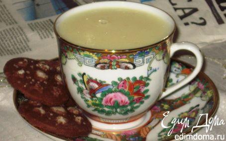 Рецепт Горячий белый шоколад