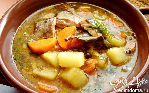 Рецепт Назад в СССР: суп из рыбных консервов