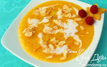 Рецепт Тайский десерт (карамбола в манго-апельсиновом соусе)