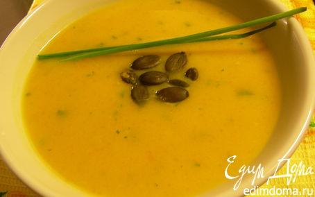 Рецепт Крем-суп из тыквы с виски