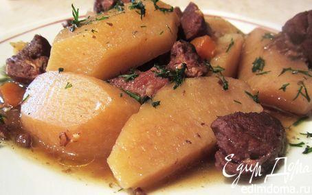 Рецепт Жаркое по-домашнему в гранатовом соусе