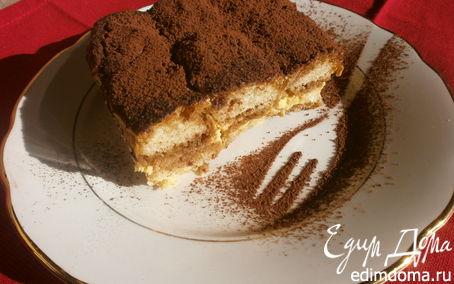 """Рецепт Десерт """"Тирамису"""" - рецепт с математическим расчетом от итальянских хозяек"""