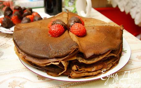 Рецепт Шоколадные блинчики