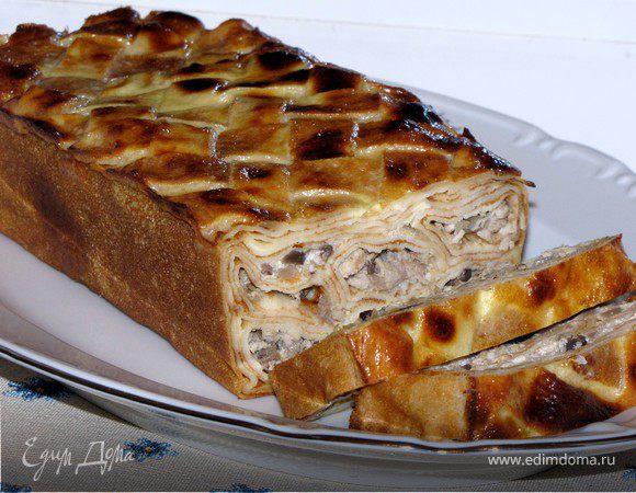 пирог с мясом рецепт с фото простой рецепт