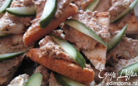 Рецепт Паштет из куриной печени с фисташками