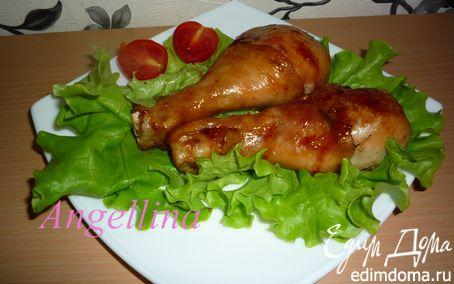 Рецепт Куриные ножки с соусом терияки