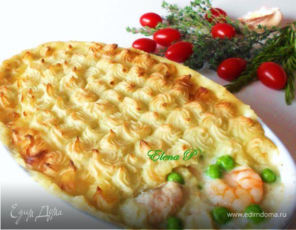 """Рыбный """"пирог"""" (Fish pie)"""