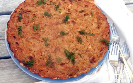 Рецепт Тарт с карамелизованным луком и рикоттой