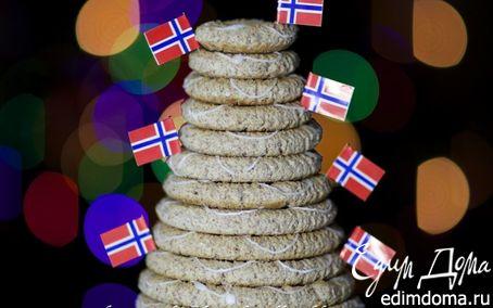 Рецепт Норвежский миндальный торт