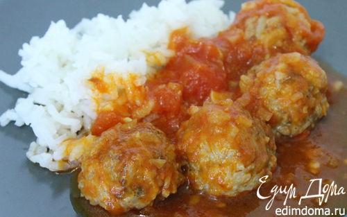 Рецепт Тефтели в томатно-винном соусе