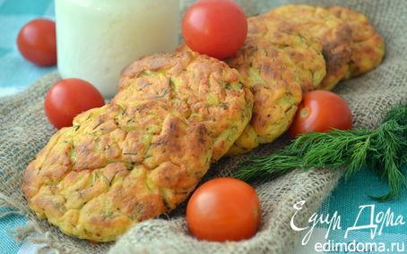Рецепт Картофельные сырники с укропом из духовки