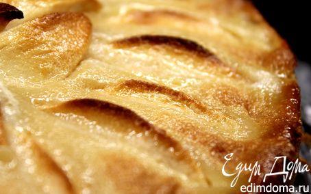 Рецепт Яблочный тарт с карамельным кремом