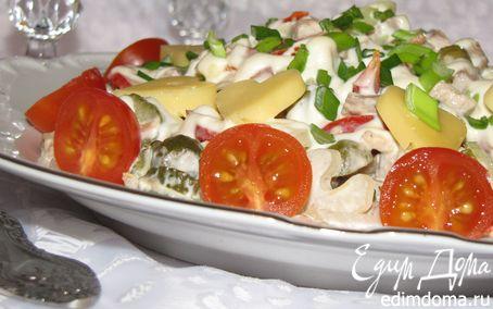 Рецепт Салат с телятиной