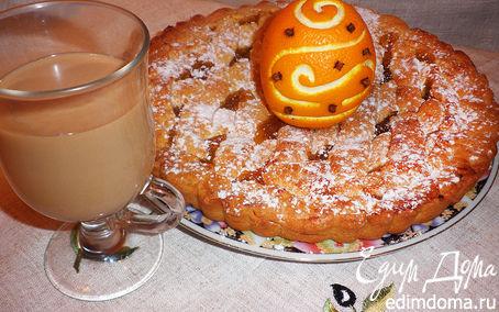 Рецепт Кростата с апельсиновым джемом (Crostata di Roma)
