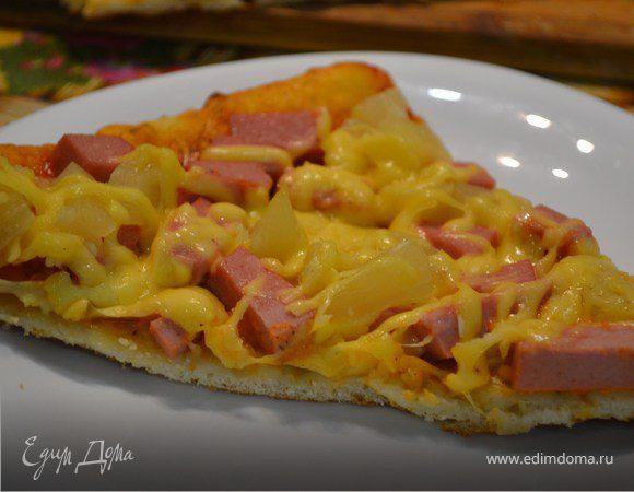 Гавайская пицца (Hawaiian pizza)