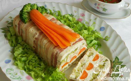Рецепт Творожный террин с томатным соусом
