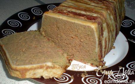 Рецепт Телячья печень, запеченная с беконом