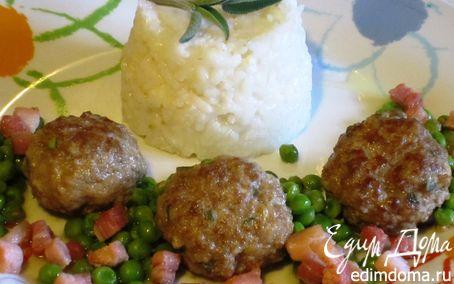 Рецепт Мясные биточки с шалфеем
